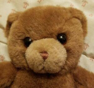 """VINTAGE 1983 GUND KARITAS TENDER TEDDY BROWN BEAR MADE IN KOREA 9"""""""