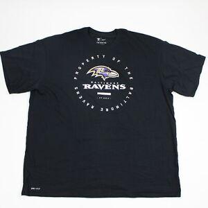 Baltimore Ravens Nike Nike Tee Short Sleeve Shirt Men's Black New without Tags