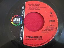 SOUL 45 - YOUNG HEARTS - OH I'LL NEVER BE THE SAME / GET YOURSELF - MINIT 32039
