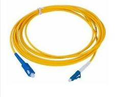 10 x SC to LC Singlemode Single Core Fiber Optical Patch Cable Line 5 Meter