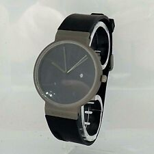 Jacob Jensen Damen/Herrenuhr Armbanduhr Uhr Classic - Titan Kautschuk Ref.660
