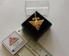 Goldflieger Pin / Anstecker Metall  Paläo SETI / Prä-Astronautik (Gold)  *NEU*