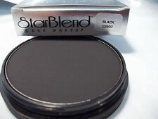 Mehron Black  Star Blend Cake Pancake Water Base Stage Makeup Professional