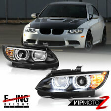"""DTM HALO"" Xenon D1S HID Headlights LED DRL 07-10 BMW E92 E93 328i 335i M3 Coupe"