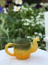 Miniature Dollhouse FAIRY GARDEN Accessories ~ Copper Color Teapot /& 4 Cups Set