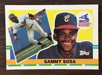 1989 Topps BIG Set Break #286 SAMMY SOSA  MINT  A01021219