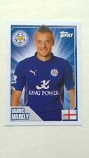 Jamie Vardy Rookie Sticker - Topps Premier League 2015 - MINT Condition