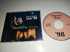 Depeche Mode CD Ultra Live Singles Tour 1998 Cologne London Limited Edition