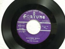 THE FIVE DOLLARS Doctor Baby FORTUNE 821 M-