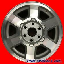 "GMC YUKON DENALI YUKON XL 2005 2006 17"" MACHINED SILVER WHEEL RIM 5242"