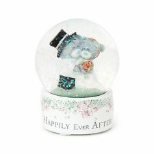 Me to You Happily Ever After Wedding Snow Globe