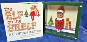 Elf on the Shelf Christmas Tradition Book Blue-Eyed Boy Elf 2005 First Edition