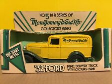 Ertl Montgomery Ward  1932 Ford Panel Delivery Truck Diecast Bank # 5 1:25 Scale