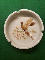 """Vintage Otagiri Japan Ceramic Ashtray Pheasant 5"""""""