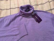 NWT Ralph Lauren Purple Label 100% Cashmere Turtleneck Sweater Jumper Size XXL