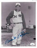 Milt Pappas Signed Autographed 8X10 Photo Vintage Cincinnati Reds JSA II72863
