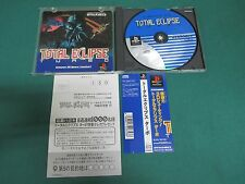 PlayStation -- TOTAL ECLIPSE -- PS1. JAPAN GAME. Spine card. work fully. 15467