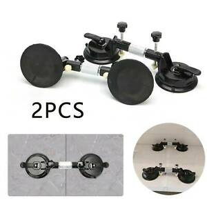 2Pcs Stone Seam Setter Seam Leveling Joining Stone Tiles Suction Cup Gluing Tool