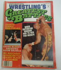 Wrestling's Greatest Battles Magazine Superstar Graham Winter 1977 062615R2