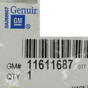 Genuine GM Axle Nut 11611687