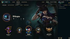 LoL ADC Smurf, EUW, 60 Champions, 255€ Ingame cosmetics. Skin for every ADC