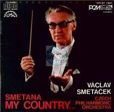 SMETANA my country CD vaclav smetacek SUPRAPHON 38C37-7241 made in japan