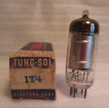 Tung-Sol 1T4 Electronic Vacuum Radio TV Audio Amplifier Tube In Box NOS