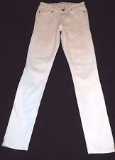 PAIGE Women's 25 / 0 / 00 Verdugo Ultra Skinny Optic White Mid Rise Ankle Jeans