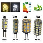 G4 5050/1210 SMD LED RV Marine Boat Camper Car Light Bulb Lamp Warm/Cool White