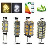 G4 5050/1210 SMD LED RV Marine Boat Camper Car Light Bulb Lamp Warm/Cool White