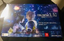 Pax East 2019 Final Fantasy X X-2/ XII Nintendo Switch Poster Print Double Sided