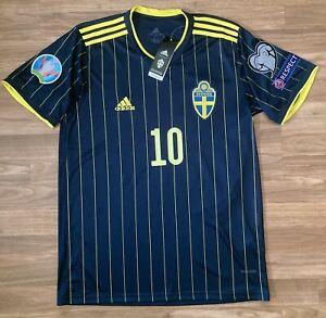 "NWT Sweden 2021 Away Jersey ""Ibrahimović #10"" (US Men's Large)"