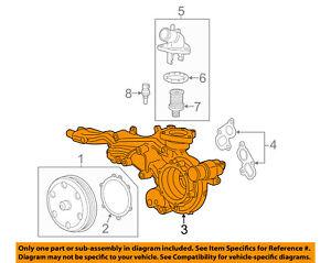 GM OEM-Engine Water Pump 12692045