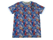 MEN'S FLY53 COLLIDER T-SHIRT - BLUE / SILVER / GREY / RED - SIZE MEDIUM **NEW**