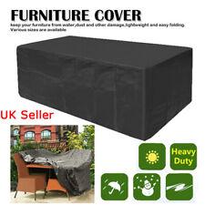 Outdoor Furniture Covers Waterproof Dustproof Cover Garden Furniture Cube Set UK