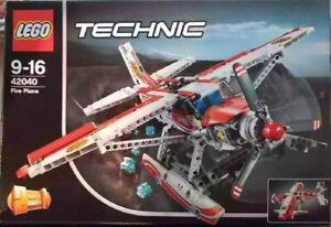Lego Technic 42040 Löschflugzeug mit OVP und Bauanleitung.