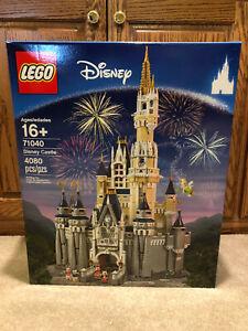 Brand New In Box LEGO Walt Disney World Cinderella's Castle 71040 Disney Castle
