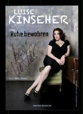 Luise Kinseher Autogrammkarte Original Signiert ## BC 174581