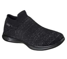 Womens Skechers Go Step Lite - Flair Shoes in Black From Get The Label UK 5 14511BBKBLK126