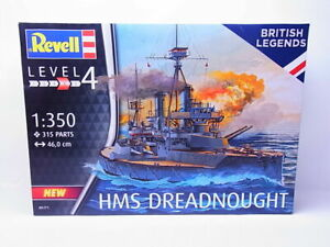 HMS Dreadnought 1:350 Revell  scale model kit  05171