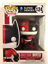DC Super Heroes Harley Quinn Impopster Pop Vinyl Figure #124 Funko 2016