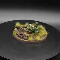 Painted 28mm Bolt Action Us Airborne 30cal Team (3 Men) Warlord Games Ww2