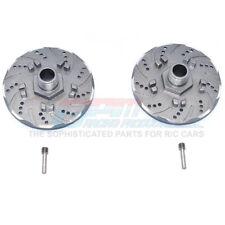 GPM Alum +6mm Hex w/ Brake Disk & w/ Silver Lining (4Pcs) Grey : Infraction