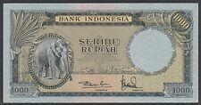 Indonesia 1000 rupiah 1957, EF-, Pick 53 / H-245b