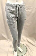 Ladies Slazenger Jogger Tracksuite Bottoms Grey Black Size 8, 10, 12, 14, 16