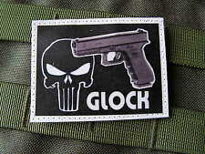 SNAKE PATCH - GLOCK 17 18 19 23 26 - PUNISHER US ARMY AIRSOFT TIR ISTC NTTC