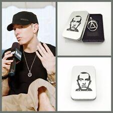 Eminem The Best RAPPER Grammy Titanium Steel Necklace Pendants Chain Party Gift