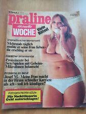 PRALINE AKTUELLE WOCHE Nr.2 / 4.1 /1973 / FREIZEIT- EROTIK  MAGAZIN,Busen,FKK