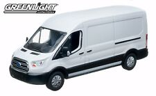 Greenlight 86083 2017 Ford Transit LWB Oxford White 1:43 Scale Diecast