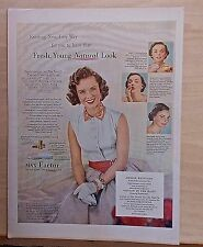 "1952 magazine ad for Max Factor - Debbie Reynolds star of ""Singing In The Rain"""